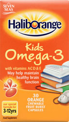 Haliborange kids Omega-3 – orange flavour