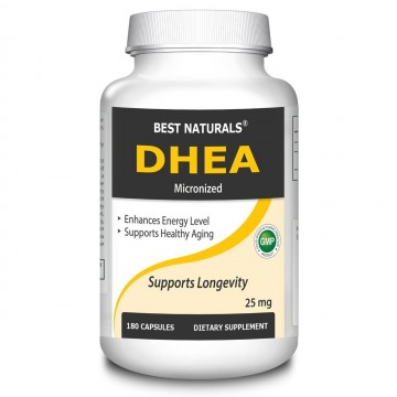 Micronized DHEA 25 mg Capsules pack of 180