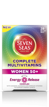 Seven Seas complete multivitamin women 50+ 28's
