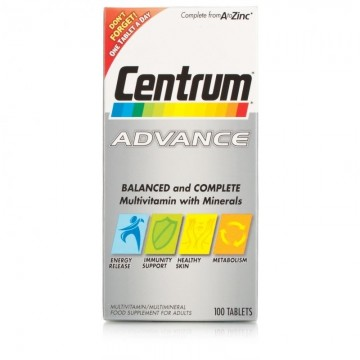 Centrum Advance tablets pack of 100's