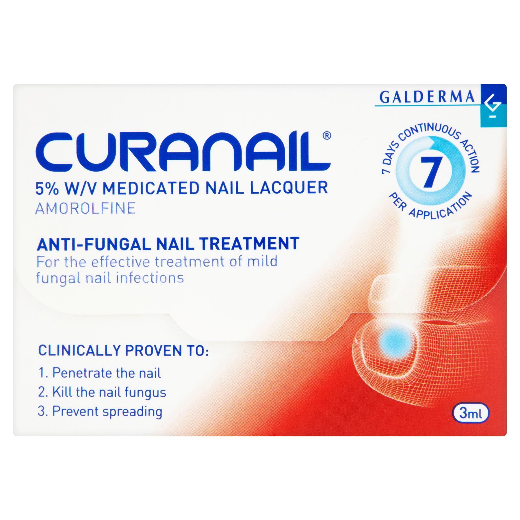 LOCERYL (CURANAIL) 5% NAIL LACQUER 3ML - Pharmacy Direct Kenya