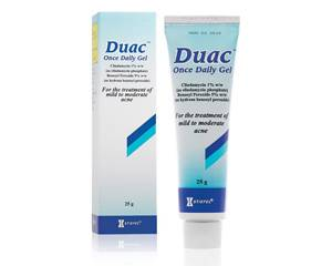 DUAC 3% ONCE DAILY GEL 30G