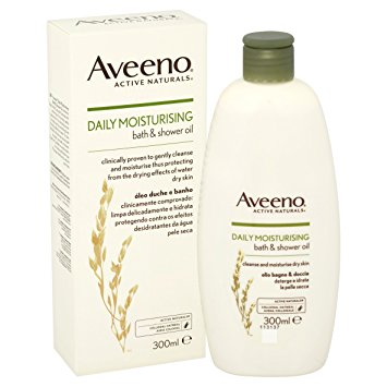 AVEENO BATH & SHOWER OIL 300ML