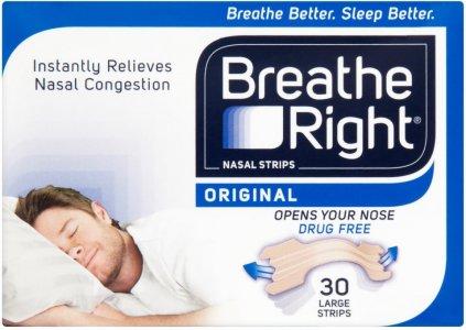 BREATHE RIGHT NASAL STRIPS ORIGINAL LARGE STRIPS 10`S