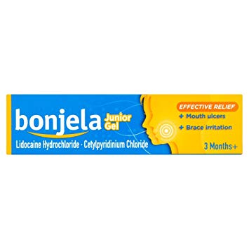 BONJELA JUNIOR ULCER GEL 15G