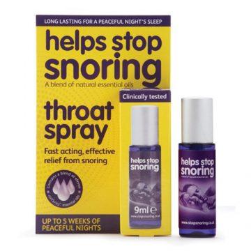 HELPS STOP SNORING THROAT SPRAY 9ML