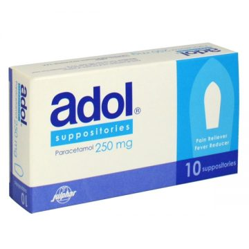 ADOL 250MG SUPPOSITORIES 10`S