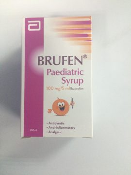 BRUFEN PAEDIATRIC SUSPENSION 100ML