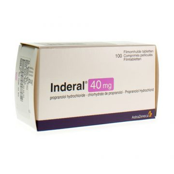 INDERAL 40MG TABLETS 100`S