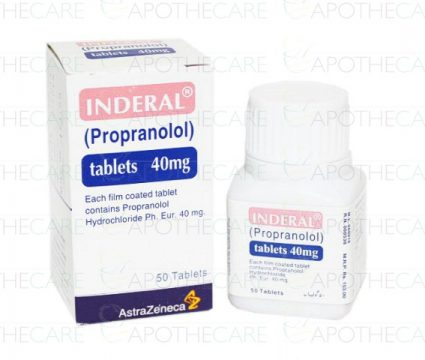 INDERAL 40MG TABLETS 50`S