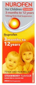 NUROFEN FOR CHILDREN (ORANGE)200ML