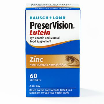 Preservision Lutein softgels 60`S (EYE VITAMIN AND MINERAL FOOD SUPPLEMENT)