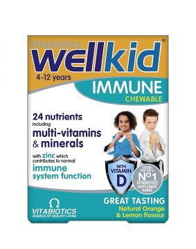 WELLKID CHEWABLE TABLETS 30`S