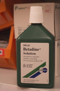 BETADINE ANTISEPTIC SOLUTION 500ML