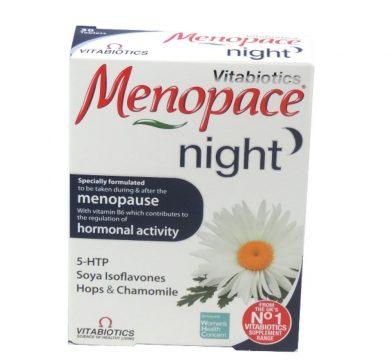 MENOPACE NIGHT TABLETS 30`S